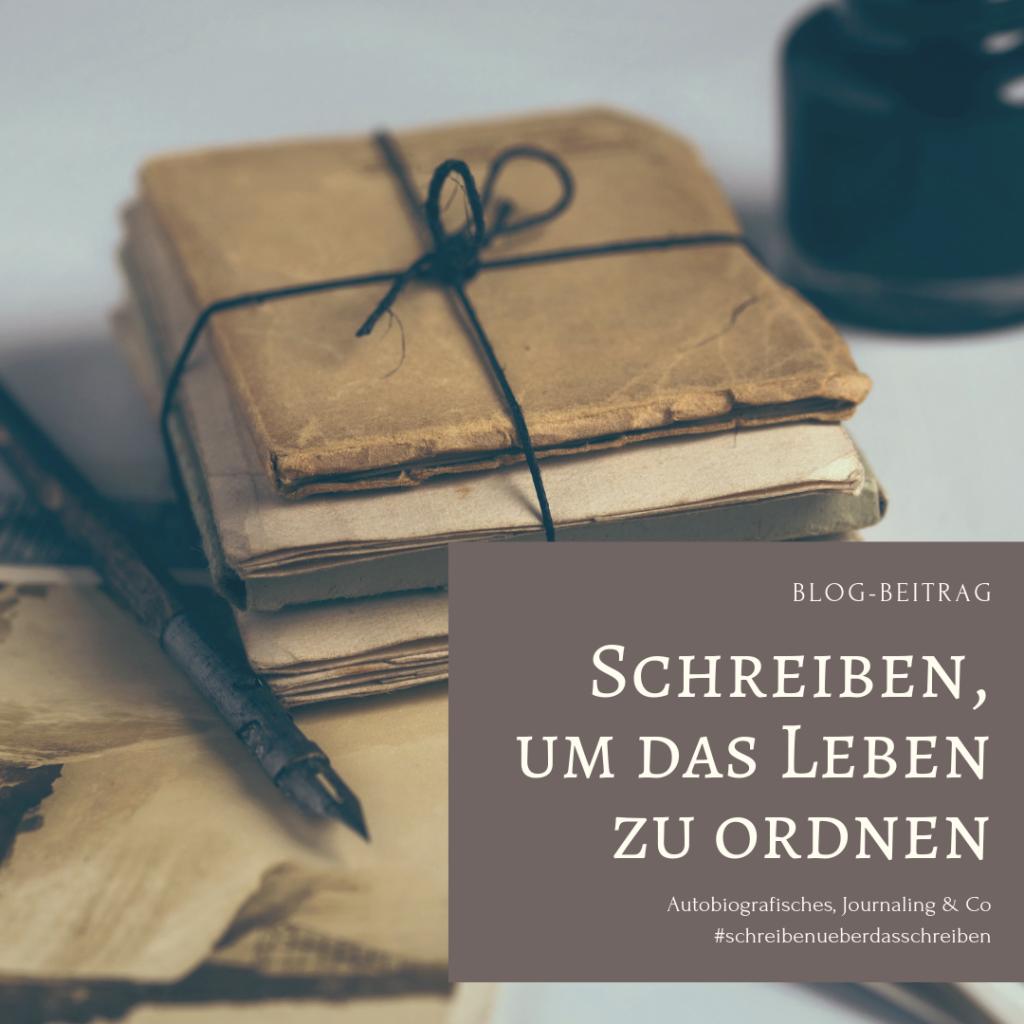 Tagebuch, journals, Memoria alles Möglichkeiten, um autobiografisch zu schreiben